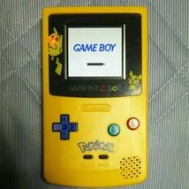 Game Boy Color Pikachu Backlight Console Bennve Freckle Shack Nintendo F... - $341.95 CAD