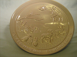 [Y7] Frankoma Christmas Plate 1978 All Nature Rejoiced - $7.17