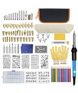 128Pcs Wood Burning Kit, Professional Woodburning Tool with Soldering Ir... - $129.99