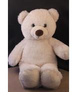 "13"" Build-A-Bear Workshop Plush White Teddy Bear  - $5.23"