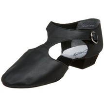 Capezio 321 Pedini Leather Black Greek Sandals Lyrical Dance Size 4M 4 M... - $46.53