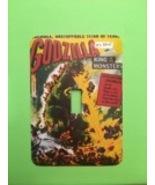 Godzilla Metal Switch PLATE  horror Movies - $9.50