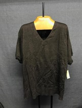 BRAND NEW! Coldwater Creek relaxed V sweater size 1X retail $64.95 - $14.01