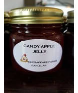 Candy Apple Jelly 4 Oz Size Arkansas Grown & Made Organic Great Gift Idea!  - $3.00