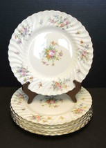 "Six Minton 10 1/2"" Dinner Plates - Marlow - $94.99"