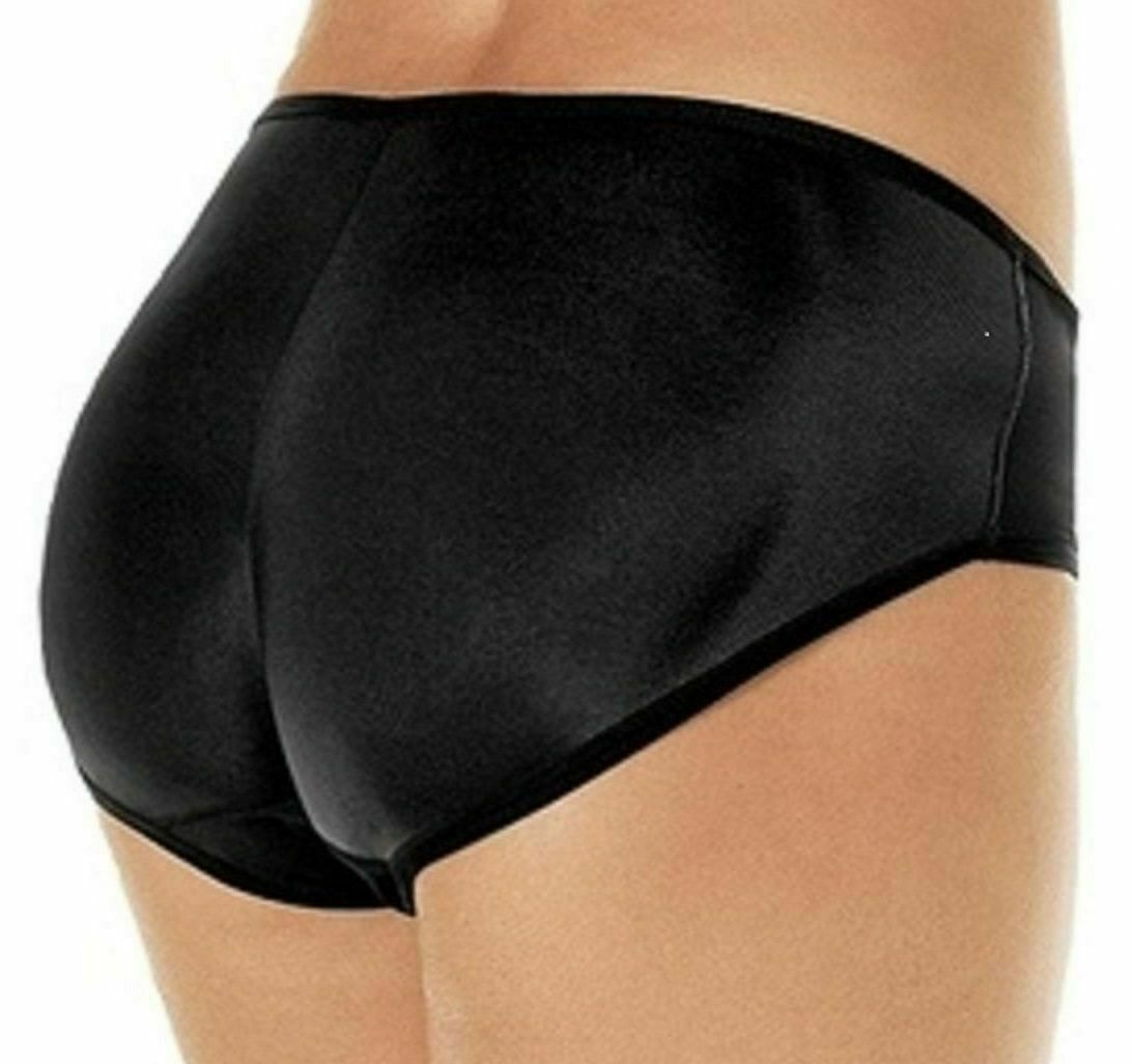 Women's Fullness Butt Lifter Enhancer Booster Shaper Panty Black  #7011