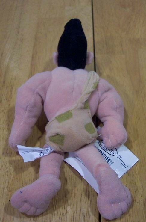 The Disney Store GEORGE OF THE JUNGLE Plush Stuffed Animal NEW