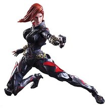 MARVEL UNIVERSE VARIANT PLAY Arts Kai Black Widow Made Of PVC Pre-painte... - $183.00