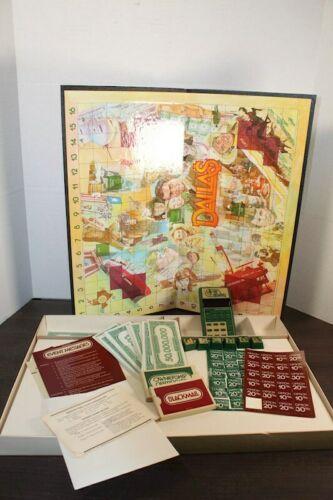Vintage 1981 Dallas TV Show Mattel Electronics Board Game JR Ewing Computer