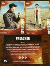 2016 Sdcc Comic con Topps AMC Preacher Promo Tarjeta Conjunto de 3 Custe... - $11.87