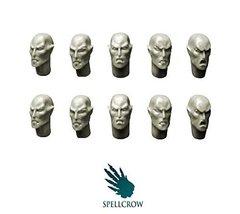 Spellcrow Elves: Space Elves Heads (10 Bits)