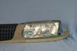 93-94 Nissan Tsuru Sunny Sentra B13 Headlights Head Light Lamps Set L&R w/ Grill image 5