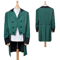 Steamed Punk Outfit Cosplay Costume Swallow-tailed Coat Suit Partywear - $73.59