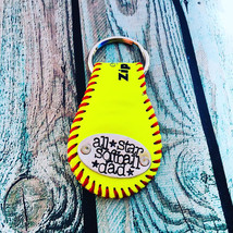 Softball Keychain Great gift - $35.00