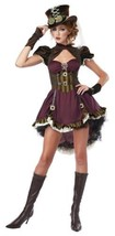 Steampunk Girl Halloween Costume Adult Womans Large 10-12 - $65.99