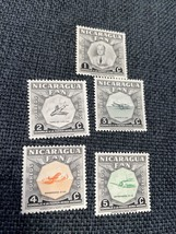 5 Nicaragua Stamps -  - Airmail , Mint See Pictures - $1.99