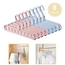 ESOUL TECHNOLOGY Magic Hangers Closet Space Saving Clothes Hanger Organizer Pack