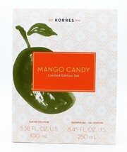 Korres Mango Candy Limited Edition Set: Eau De Cologne 3.38 Fl Oz., Show... - $28.49