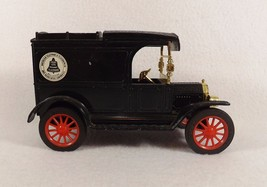 Vintage ERTL Ford 1913 Model T Van AT&T Collectors Bank Black/Red Spokes - $12.95