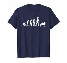 Dog Fashion - German Shepherd Dog Tee Shirt Gift Walk Evolution Men - $19.95+