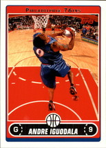 2006-07 Topps #121 Andre Iguodala NM-MT 76ers - $1.00