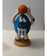 Blue Peanut M&M Basketball Player Sports Collectible Candy Dispenser - $18.99