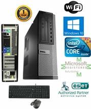 Dell Pc Sff Desktop Intel i7 2nd Gen. 3.40g 16GB New 1TB Hd Win 10 Duel- Hdmi - $383.90