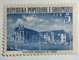 Albania Stamps 1953 Tirana - $2.48