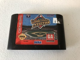 World Series Baseball - Sega Genesis - Cleaned & Tested - $5.82
