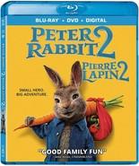 Peter Rabbit 2 BLU-RAY + DVD +DIGITAL CANADA - 2021 Brand New Sealed - $19.75