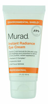 Murad Instant Radiance Eye Cream 2.0 oz.  Fresh - $49.49