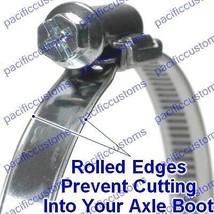 Porsche 930 CV Axle Boot Bates Clamp Set of Four For Dune Buggies 100-120mm - $28.88