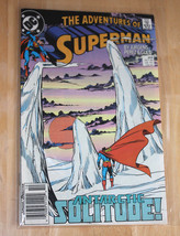 The Adventures Of Superman DC Comic Antarctic Solitude 459 Jurgens Perez... - $3.19