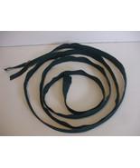 Dressbag Green Nylon Close End Zipper 108 inches long (10 feet 8 inches ... - $34.87