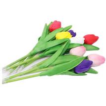 Tulip shape Ballpoint Pen Creative Plant Flowers shape Ballpoint Pen Sta... - $4.28