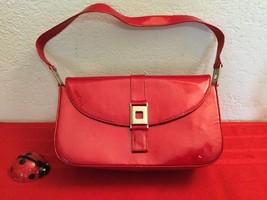 Stuart Weitzman Red Patent Leather Shoulder Bag Medium Purse - $30.00
