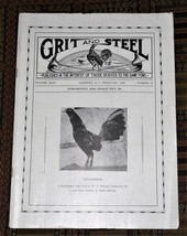 XRARE: Sept. 1945 Grit and Steel Magazine - cock fighting game fowls - $35.00