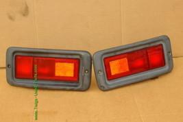 Mitsubishi Nativa Montero Sport Euro Rear Bumper Fog Light Panel 97-99 PAIR image 1