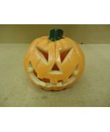 Standard Pumpkin Decorative 8in Diameter x 8in H Orange Halloween Plastic - $16.92