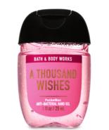 Bath & Body Works Pocketbac Hand Sanitizer Gel A Thousand Wishes 1oz - $2.87