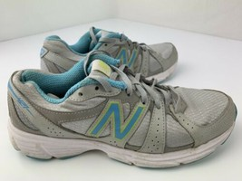 New Balance 421 Running Women's Shoes Size 8.5 Grey Blue WE421sb1 - $24.74