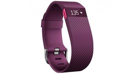 SEALED FITBIT CHARGE HR FB405PML ACTIVITY AND HEARTRATE TRACKER LARGE PU... - $99.00