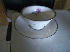Franciscan Huntington Rose cup and saucer 7 available - $5.54