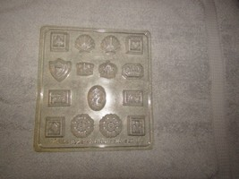 WILTON CLASSIC SET I chocolate candy molds 15 on sheet - w/instructions - $5.00