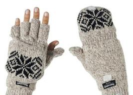 Metog- Medium Jacquard Beige 3M Thinsulate Thermal Insulation Mitten Gloves - $11.26