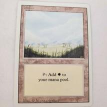 Vtg Magic Gathering Card Mtg Plains (B) Revised Jades Collection Light Play - $7.68