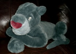 "20 "" Grand Bagheera Gris Panther Disney Magasin Jungle Livre Peluche Animal - $24.41"