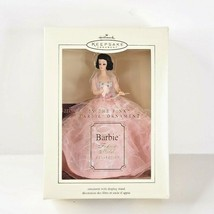 Hallmark Barbie In The Pink Christmas Tree Ornament Mattel 2002 New Old ... - $19.99