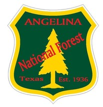 Angelina National Forest Sticker R3196 Texas - $1.45+