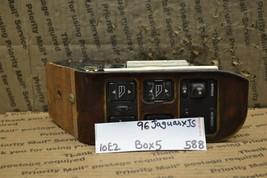 95-97 Jaguar XJ6 Left Driver Master Switch With Memory Door Window Bx 5 588-10E2 - $102.48